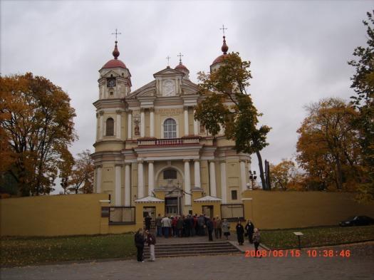 Kościół Piotra i Pawła.